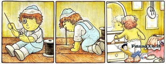 Spia la Vicina di Casa che si Spoglia bambola spiona 550x212