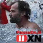 Immerso nel Ghiaccio nudo per 1 ora e 44 minuti! iceman