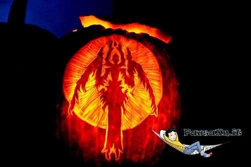 Le Spaventose Zucche di Halloween demone