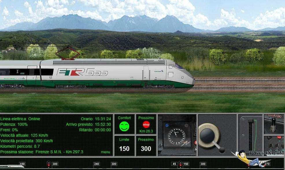 Guida il Treno Eurostar delle Ferrovie dello Stato con Eurostar Driver eurostar